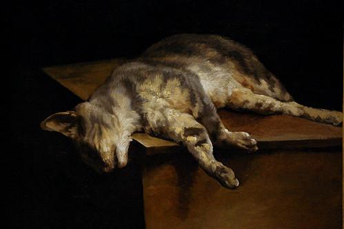 Le chat mort, Théodore Géricault, Musée du Louvre