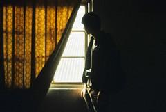 [フリー画像] [人物写真] [男性ポートレイト] [窓辺の風景]        [フリー素材]