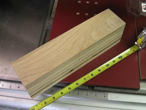 pallet wood scrap glue-up block