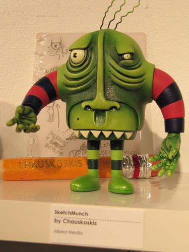 Chauskoskis custom Sketchbot by TenaciousBenny.