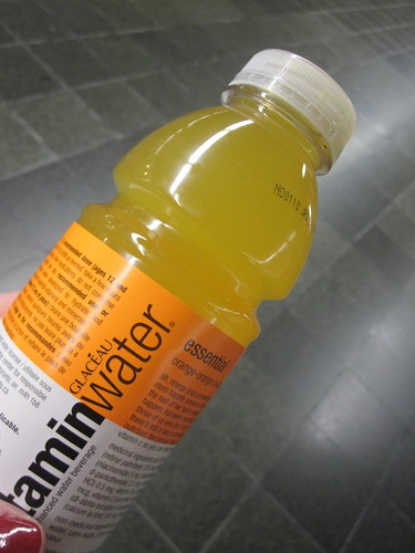 Vitamin water - $2.50 at a subway dep