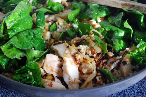 Brown Rice Chicken Stir Fry