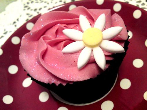 Girly Swirly Cupcake