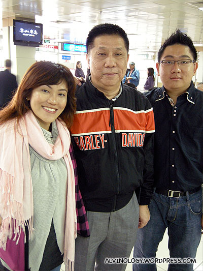 Rachel and I with the chairman of the Singapore Teochew Association