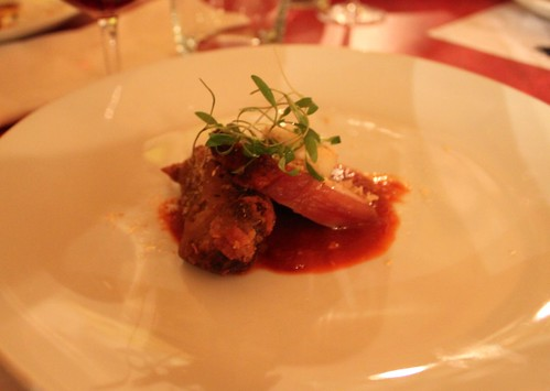 crispy duck breast with xo sauce