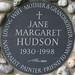 JANE MARGARET HUDSON