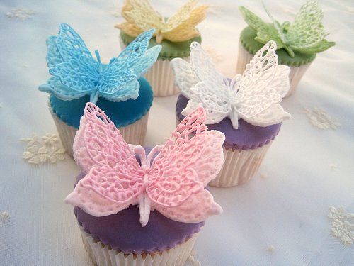 Icing Butterfly Cupcakes