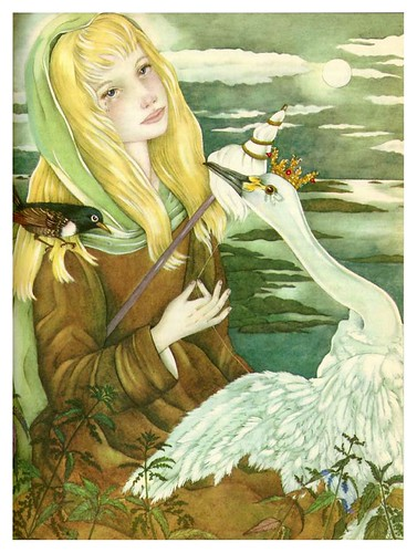020-Los cisnes salvajes-The Fairy Tale Book-Adrienne Segur
