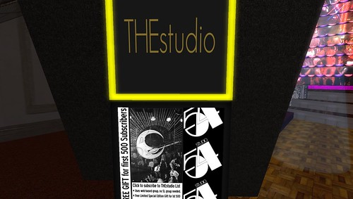 THEstudio virtual world