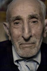 .. (Kerim K.) Tags: portrait dede turkey beard 50mm model nikon father trkiye grandfather moustache age elder older 100 50 aging kel portre hayat tyrkiet gz sivas turkia nostaljik salak burun ya vakit yanak d80 turcia byk yal asr mslman ihtiyar bykbaba arkla turciha yalamca kerimk