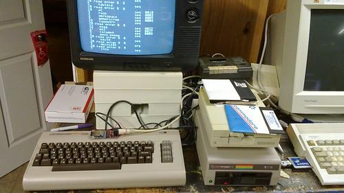 C64 + uIEC/SD
