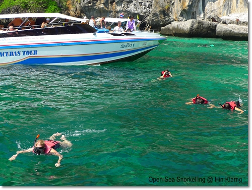 Open Sea Snorkelling
