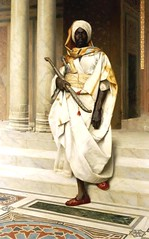 African Warrior (cool-art) Tags: africa war military muslim guard warrior warriors wars turban islamic nubian