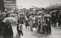 Coronation 1911 (Livewire Libraries' images of Warrington) Tags: people costume warrington leisure coronation woolston martinscroft