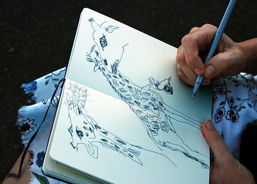 Giraffe Drawings_3784