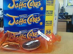 Jaffa cake hijacking (goreckidawn) Tags: cake jaffa hijacking
