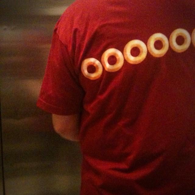 ooooo going down the elevator #walkingtoworktoday