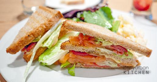 Gravlax Sandwich