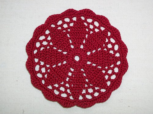 Picture of the resulting coaster.