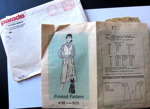 Vintage Mail Order Pattern 4785