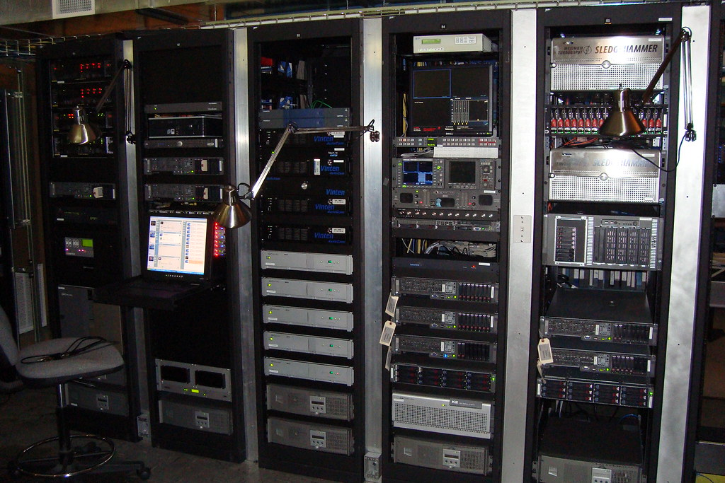 HD Studio Equipment Rack