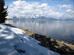 Beach at South Lake Tahoe