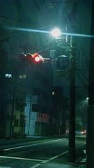 snow lights (wongyokeseong) Tags: street snow trafficlights japan night lights tokyo trafficlight wind sony   sumida lawson   sumidaward  higashikomagata  sonydsct200 sonyt200