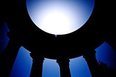 Blueness (intensepizza) Tags: california blue sky san francisco pillars pulgas watertemple oldbluepillarsskycaliforniapulgaswatertemplesanfrancisco