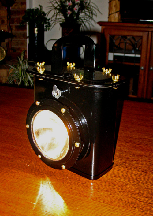 lantern done inside lit