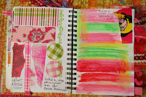 Pink Notebook: spring colours