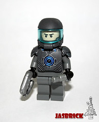 Sci-Fi Combat Armour (JasBrick) Tags: amazing power lego hazel scifi minifig custom armory armour brickarms