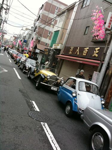 第6回かわさき薬大師『昭和まつり」 HCC95主催クラシックカーパレード[April.17.2010]