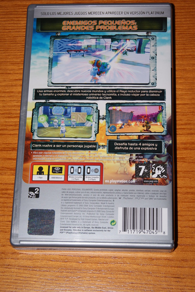 Carátula PSP 2