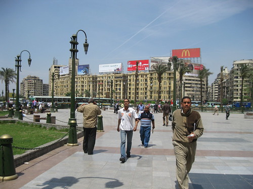 Part of downtown Cairo
