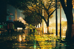 Raining (a l e x . k) Tags: guangzhou street film rain night pentax 廣州 supera fa43mmf19