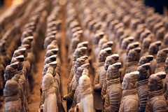 Feel The Fear And Do It Anyway (Sam Ili) Tags: china canon army terracotta warriors    5dmarkii canon24105mm4
