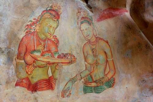 Sigirya's maidens