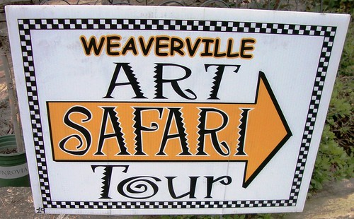 Art Safari Sign