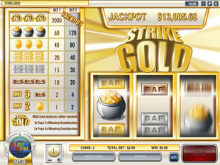Strike Gold slot game online review