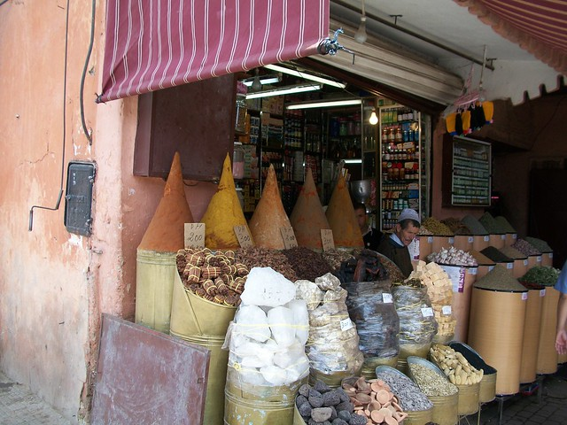 Spice stall, Marrakech