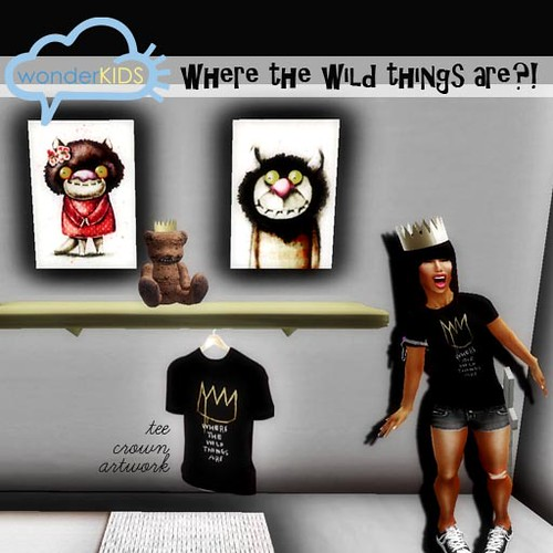 <(wonderkids)! where the wild things are display