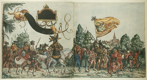 Triumph of Maximilian I (16th c) a