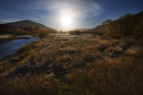'It's Going to be a Bright One', New Zealand, Mossburn, Countryside