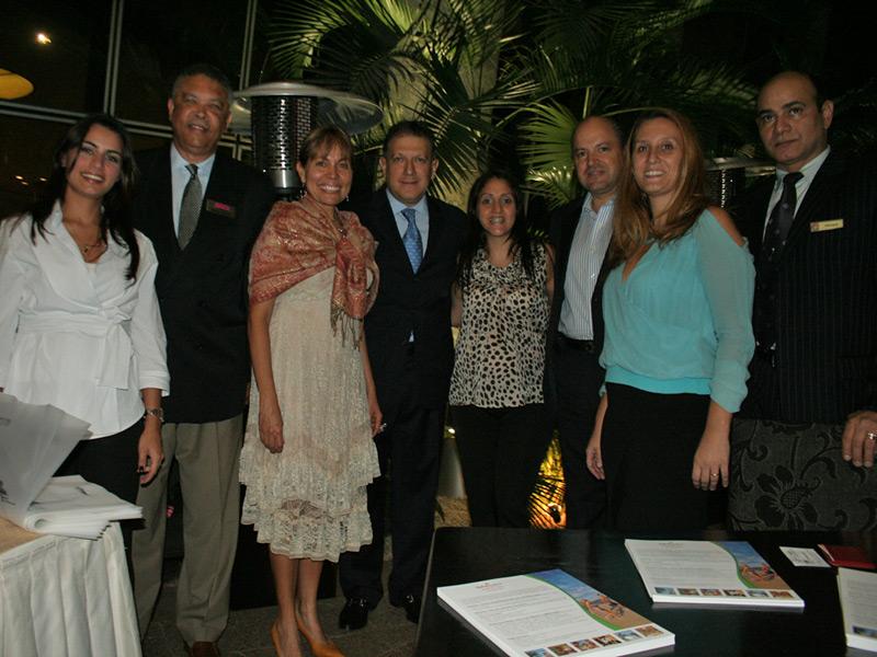 La oficina de turismo de Jamaica ofreció una recepción a sus promotores y asociados en Brasil