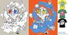 CDMON contest (TURKESA (old profile)) Tags: cloud nerd illustration photoshop mouse pc tshirt screen fresh freak usb plug headphones diseño informatica diskette turkesa rabodiga cdmon turkesart