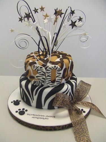 CAKE - Animal print cake