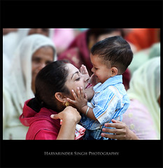 Happy Mothers Day :-) (Harvarinder Singh) Tags: baby india love happy babies affection mother happiness together care punjab mothersday ludhiana motherlove happymothersday harvarindersinghphotography harvarindersingh naanke