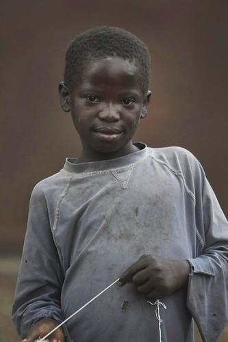 フリー写真素材, 人物, 子供, 少年・男の子, アフリカの子供, コンゴ人,