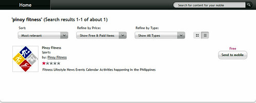 Pinoy Fitness OVI Application