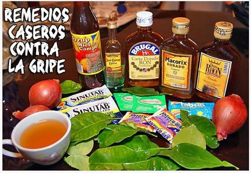 remedios contra la gripe